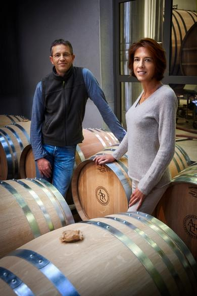 Antoine and Anne Malassagne, owners of Champagne AR Lenoble