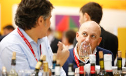 Photo: exhibitors at ProWein