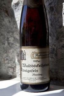 Photo: Nahe Riesling 1921. Source: DWI - Deutsches Weininstitut