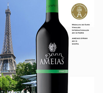 Ameias Syrah 2013 by SIVIP won Gold in Paris