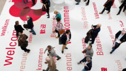 Photo: Entrance area at ProWein
