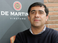 Photo: Marcelo Retamal, head of oenology at the model company De Martino.