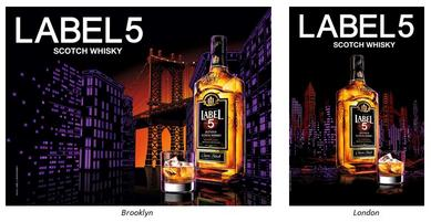 LABEL 5 Scotch Whisky Campaign in 2016