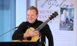 Musician Sting at ProWein 2017