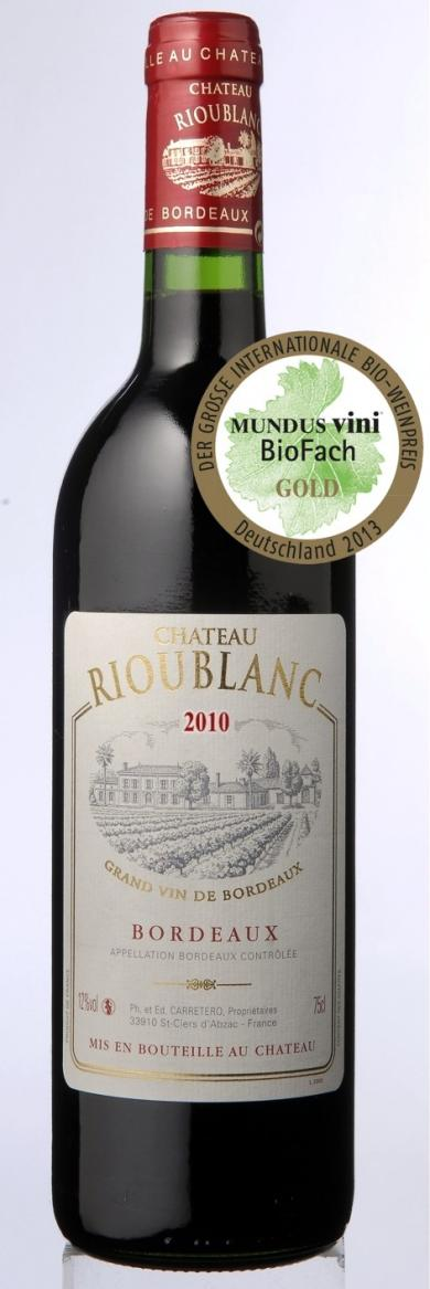 Chateau Rioublanc Red Bordeaux 2010