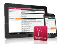 Screenshots of Prowein App
