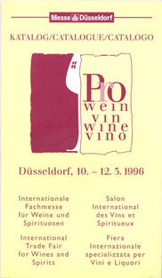 Photo: ProWein catalogue 1996