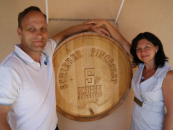 Photo: Markus and Anita Schieber: purchased a 30-hectare wine estate in Szekszárd.