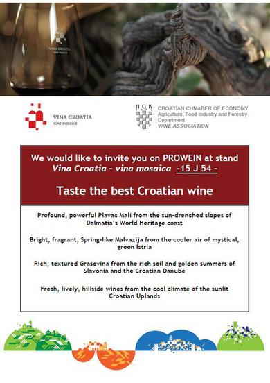 Invitation Vina Croatia
