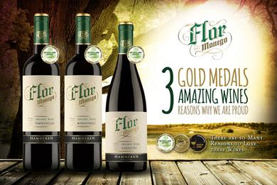 3 Red Wine - 3 Wine Regions - 3 Gold Medals