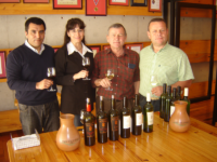 Photo: The Team of Vina Falernia.