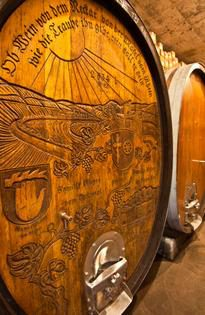 Keg from Germany, Schug Winery. Source: Matthias Stelzig