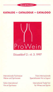 Photo: ProWein catalogue 1997