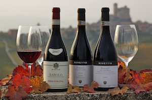 A view: Rivetto Wines on Serralunga Landskape