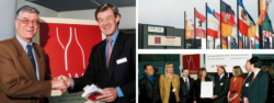 Photo collage: Highlights of ProWein 1998