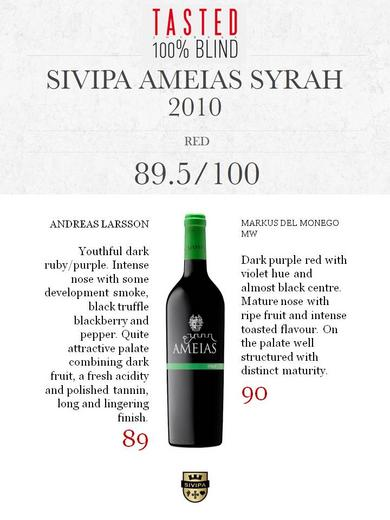 SIVIPA wines At influential Tasted Journal