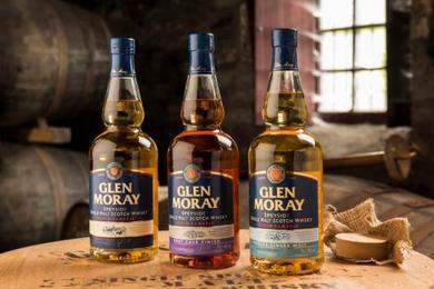 Glen Moray Classic, Glen Moray Port Cask, Glen Moray Peted
