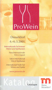 Photo: ProWein catalogue 2001
