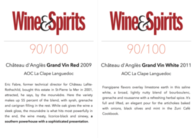 90/100 Wine & Spirit magazine (USA)