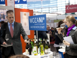 Photo: WOZANI at ProWein 2012.