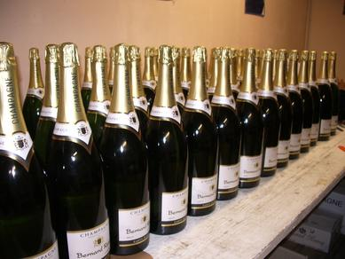 Jeroboam of Champagne for Christmas