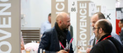 Photo: Exhibitor and visitors at ProWein
