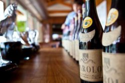 Old Barolo bottles at Montezemolo. Source: Matthias Stelzig