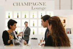 Impression of the Champagne Lounge at ProWein