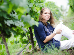 Photo: Kathrin Puff, Geisenheim graduate, for five years now running the Siam Winery.