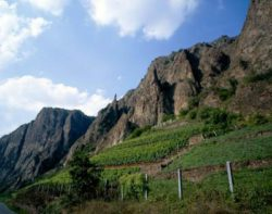Photo: Rotenfels Nahe. Source: DWI - Deutsches Weininstitut
