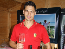 Photo: Hungary: Bence Laposa owns a vineyard in Badacsony, in the south-western corner of Lake Balaton.