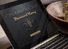 new internet website online champagne bernard remy