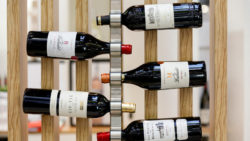 Photo: Bottles of french wine