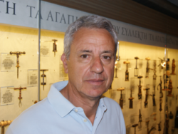 Photo: Star winegrower Evangelos Gerovassiliou from Epanomi