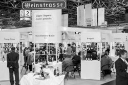 Photo: ProWein in the year 1995