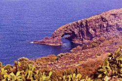 Photo: Steep coast of Pantelleria