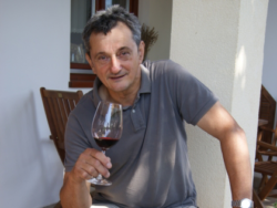 Photo: Peter Vida - Winegrowers of the Year 2011 in the red wine town of Szekszárd.