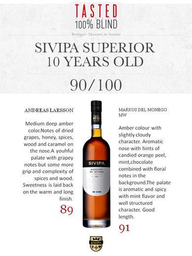 90/100 Sivipa Superior 10 year old