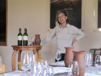 Photo: Maria Luz Marín, founder of the now highly regarded vineyard Casa Marín.
