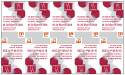 Advertising labels ProWein 2018